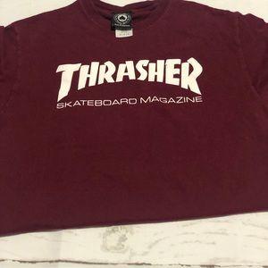 3d9ed004c Thrasher Shirts | Nwt Tee Why Doesnt My Boyfriend Skate | Poshmark